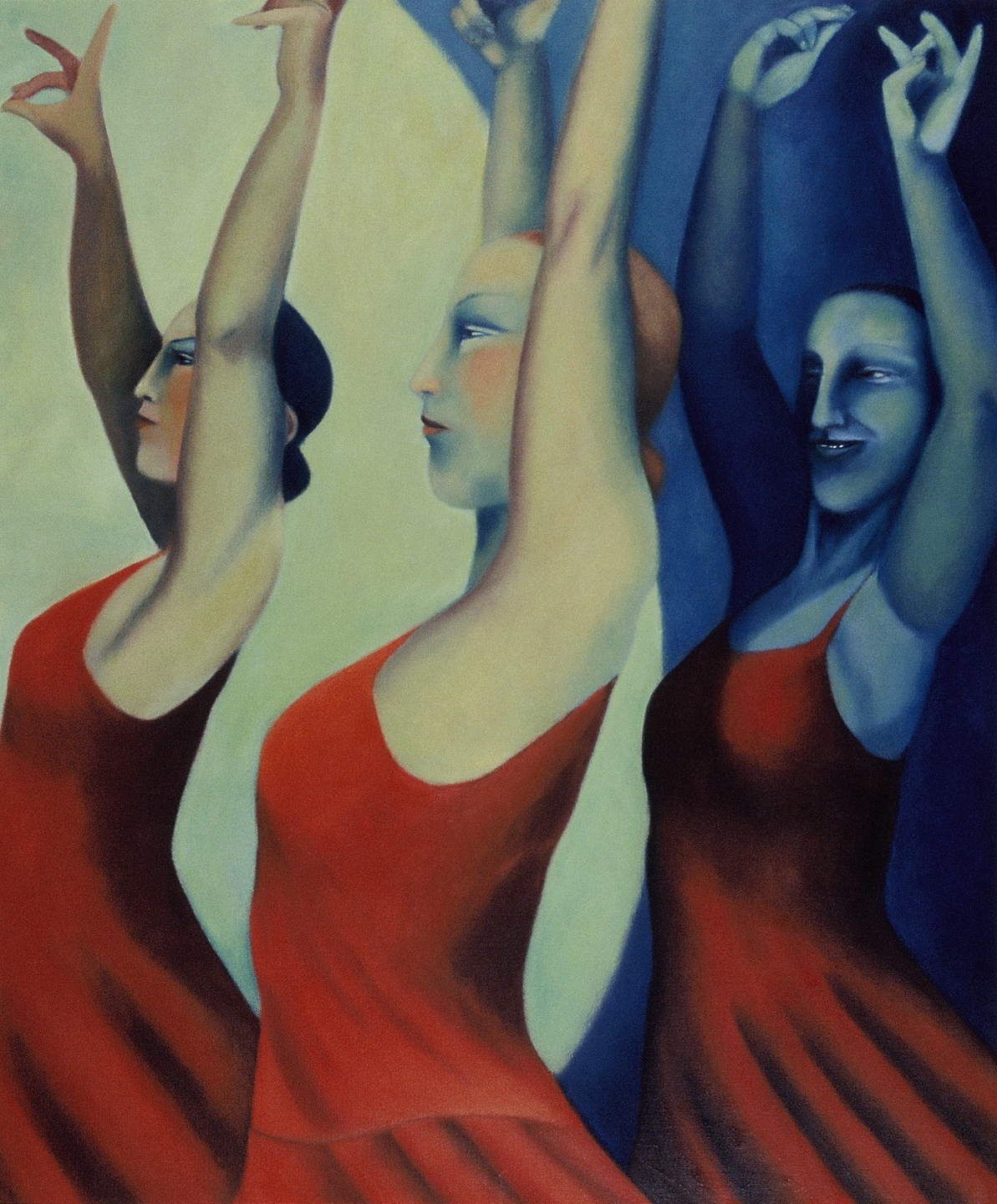 Artwork - Dancing Girls Oil on Canvas Painting | Sandra Millar - Oil on Canvas